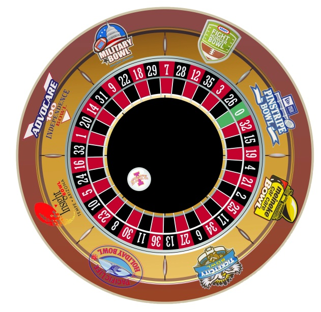 Bowl game roulette