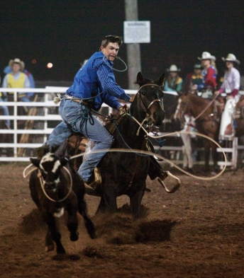 Kickin' up dust - Cyclone Stampede Rodeo